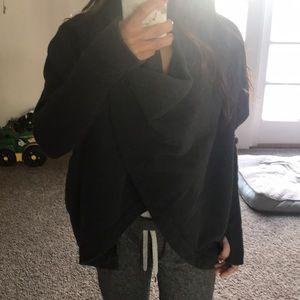 Lululemon convertible wrap gray size 4